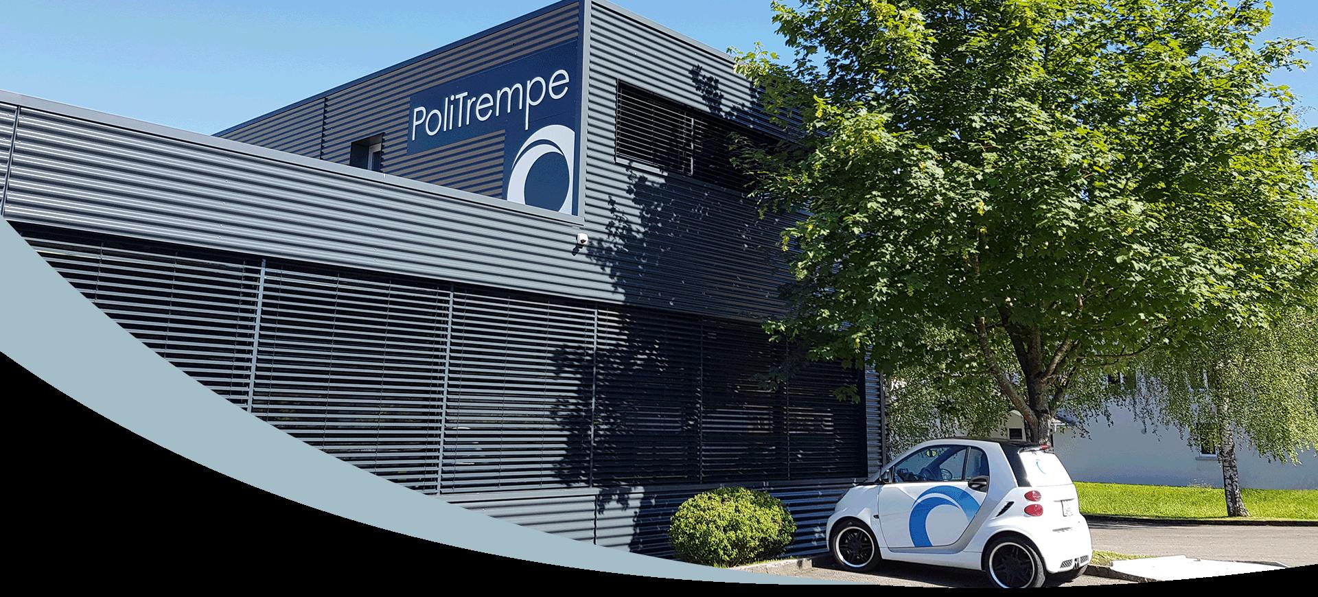 Bâtiment PoliTrempe page d'accueil